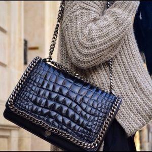 BNWOT Blogger's Fave Zara Chain Crossbody